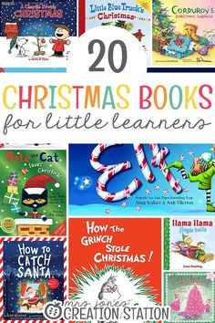 20 Christmas Books for Little Learners - We've rounded up 20 of the best Christmas books! This list will help your entire family get into the holiday spirit. Literacy Activities, Activities For Kids, Homeschooling Resources, Writing Resources, Reading Strategies, Teaching Resources, Teaching Ideas, Read Aloud Books, Children's Books