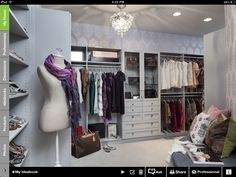 Mahican in closet! Love it