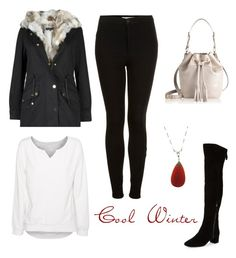 """""""Cool Winter"""" by stina999 on Polyvore featuring Topshop, Nine West, GiGi New York and True Religion"""