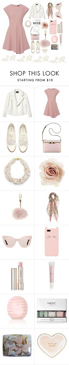 """Outfit #25"" by kalesa-1 ❤ liked on Polyvore featuring Lafayette 148 New York, TIBI, H&M, Anne Klein, Tory Burch, Cara, Fendi, masha & kate, Karen Walker and Kate Spade"