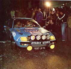 Jean-Pierre Manzagol / filippi (Alpine Renault A 310) 3ème du Tour de Corse 1976 - sport-auto décembre 1976.
