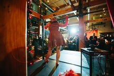 The Burlesque dancers were a hit for all.  Pinups and Burlesque 2014.  The Iron Horse Hotel in Milwaukee, WI