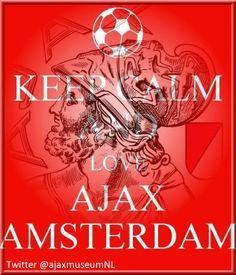 keep calm and love ajax