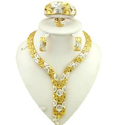african gold jewelry sets best quality fine jewelry sets gold fashion jewelry women necklace