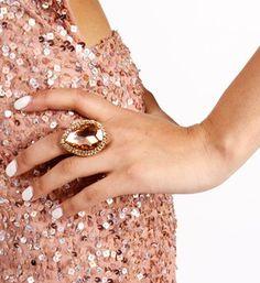 #Windsor                  #ring                     #GoldPink #Teardrop #Ring                           GoldPink Teardrop Ring                              http://www.seapai.com/product.aspx?PID=1759667