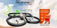 Parrot AR.Drone 2.0 GPS Edition | Drone Trend