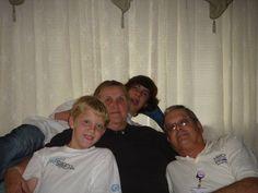 Grams, Gramps & Grandsons Wes & Kam