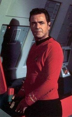 James Montgomery Scott, chief engineer of the Enterprise on Star Trek.