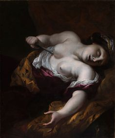 Pietro DANDINI - Morte di Lucrezia   (2500×3006)