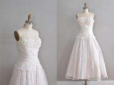 vintage 1950s Layered Cake dress
