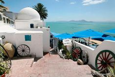Sidi Bou Said, Tunisia, Africa    Just visited this place...so breathtaking!