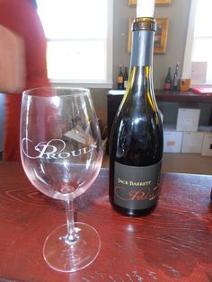 Proulx Winery in Paso Robles.  Great wines, service, and beautiful property.