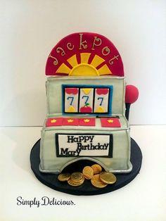 Slot Machine Cake by simplycakes