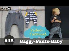 Coole Baby Hose selber nähen - DIY-Näh-Tutorial - YouTube