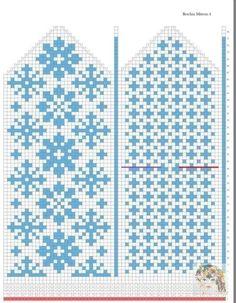 33 ideas crochet gloves diy mittens pattern for 2019 Knitted Mittens Pattern, Fair Isle Knitting Patterns, Crochet Mittens, Crochet Gloves, Knitting Charts, Knitting Stitches, Knitting Socks, Baby Knitting, Norwegian Knitting