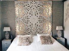 Schlafzimmer ☼ ☽ hannah sportiello ☾ ☼ How Sound Insulations Work Sound insulations are insulating m Dream Bedroom, Home Bedroom, Bedroom Decor, Moroccan Bedroom, Moroccan Decor, My New Room, Beautiful Bedrooms, Boho Decor, Home Accessories