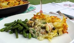 Summer Fish Pie with a Potato Rosti Topping. Fish Pie, Risotto, Potatoes, Posts, Ethnic Recipes, Summer, Blog, Messages, Summer Time