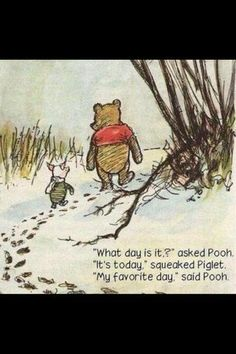 Online Newspaper » Collaboration-Images-Reviews » Best quote ever! Thanks Pooh and Piglet. :)
