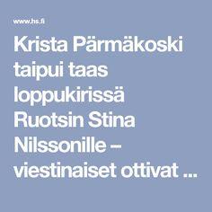 Krista Pärmäkoski taipui taas loppukirissä Ruotsin Stina Nilssonille – viestinaiset ottivat MM-pronssia - Urheilu - Helsingin Sanomat