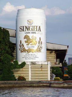 Singha beer brewery