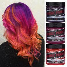 Nails pink orange peach hair 18 ideas for 2019 Pink And Orange Hair, Peach Hair, Purple Hair, Yellow Hair, Pink Purple, Flame Hair, Unnatural Hair Color, Sunset Hair, Helmet Hair