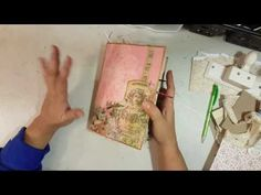 Tutorial on how I make my junk journals Part 4 - YouTube