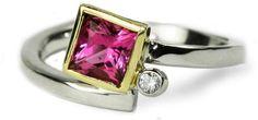 Richter's Jewelry & Design Studio Tourmaline & Diamond Ring