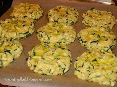 Cake Cookies, Zucchini, Side Dishes, Food And Drink, Healthy Recipes, Vegetables, Drinks, Drinking, Beverages