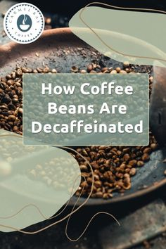 Decaffeinated coffee requires that the caffeine be extracted from the green coffee beans before roasting. This means that decaffeination happens well before coffee roasters receive the coffee beans and begin their own process of crafting flavors and roasting. This is done with a few different methods, with one of them adding a gasoline-type mixture. I take a deep dive into this entire decaffeinating subject in my article. How To Make Coffee, Coffee Art, Coffee Beans, Caffeine, How To Dry Basil, Crafting, Herbs, Deep, Latte Art