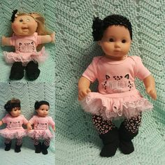 Baby Doll Clothes Wildly Baby Cute 15 inch doll by TheDollyDama