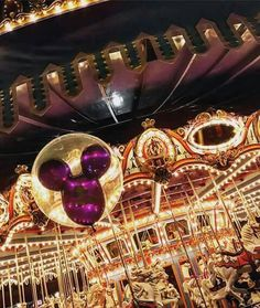 Cinderella's carousel.