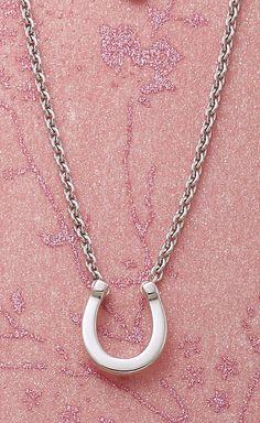 Horseshoe Necklace #JamesAvery #Valentines #Horseshoe