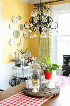 A Summer Dining Room with Inspired by Charm