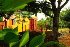 l establecimiento cuenta con departamentos totalmente equipados, ubicados sobre un balcón natural que mira la frondosidad de la selva. Ofrece piscina, avistaje de aves, senderismo, masajes. Restó. Ubicación: Ruta Nº4, Km78,  entrada del salón misionero. A 8 km de Alem. Coordenadas GPS: S27º 34º 022º - W 55º 24º 053º