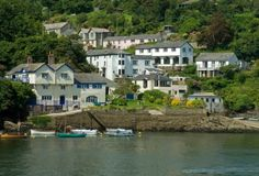 Fowey, Cornwall, England - home of Daphne du Maurier