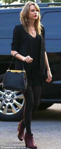 All black outfit ... Love it