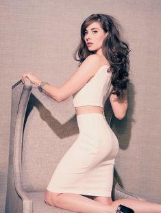Alison Brie in Rhapsody Magazine March 2014