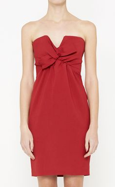 DSquared2 Red Dress @Pascale De Groof
