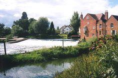 Fladbury Weir