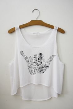 Hang Loose Crop Top – Hipster Tops #teenclothing #teenstore #croptops