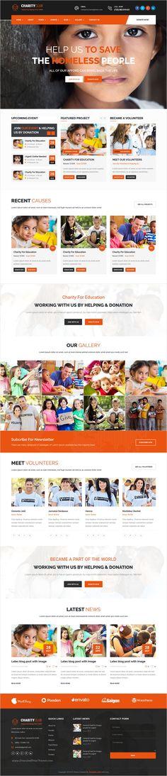 Corazon - Multi Concept Environment \/ Charity \/ Green Energy - ngo templates