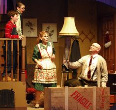 """A Christmas Story: The Musical"" - Nov./Dec. 2014 - Photo by: Joe Gigli / NJ Counties Online"