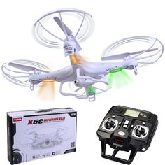 New Syma X5C Explorers 2.4G 4CH 6-Axis Gyro RC Quadcopter with HD Camera RTF New - http://www.midronepro.com/producto/new-syma-x5c-explorers-2-4g-4ch-6-axis-gyro-rc-quadcopter-with-hd-camera-rtf-new/