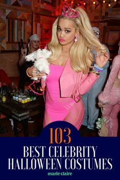 The 103 Most Epic Celebrity Halloween Costumes Ever - Celebrity halloween costumes, Blonde halloween costumes, Halloween costumes women, Best celebrity halloween costumes, Hal - Costume Halloween, Best Celebrity Halloween Costumes, Halloween Goodies, Diy Costumes, Halloween Diy, Costumes For Women, Halloween Costume Ideas For Blondes, Diy Womens Halloween Costumes, 1950s Costumes