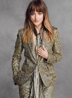 Dakota Johnson - Photographed by Patrick Demarchelier, Vogue, August 2014