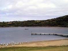 Pool of Siloam, Beachport, Limestone Coast, South Australia - super salty lake.  Mega floaty fun!