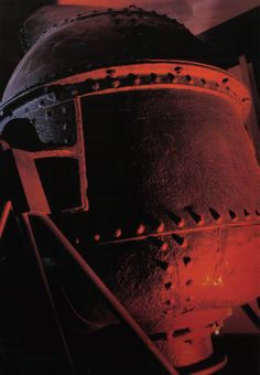 a Bessemer converter, the invention that made the Industrial Revolution possible