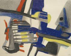 Matinailles 1956 Maurice Esteve, France 1904-2001  lithographie en couleurs