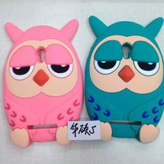 For ZenFone 5 Case 3D Cute Cartoon OWL Owls Soft Silicone rubber Case Cover For ASUS ZenFone 5 mobile phone Case Cover