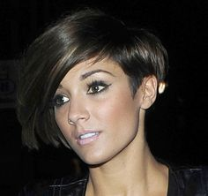 Frankie Sandford Bob - Short Hairstyles Lookbook - StyleBistro